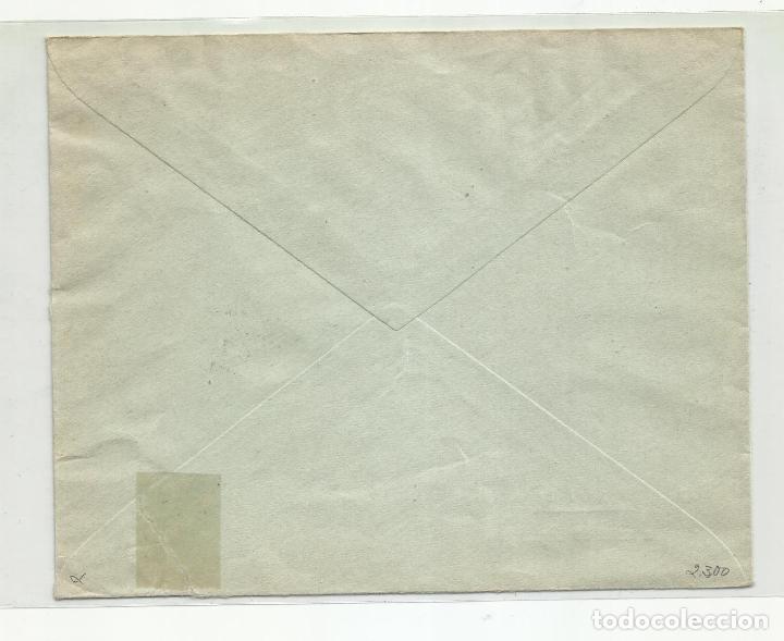 Sellos: circulada 1938 banesto de siguenza guadalajara a san sebastian con censura militar - Foto 2 - 217963951