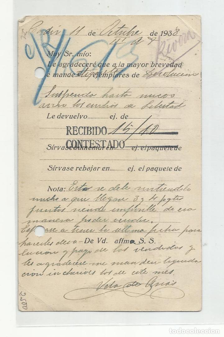 Sellos: circulada 1938 de cadiz a la libertad de valladolid con censura militar y sello local - Foto 2 - 217964185
