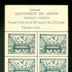 Sellos: NUMULITE A30149 AJUNTAMENT DE GIRONA DEFENSA PASSIVA 2 PTES. GERONA. Lote 218640695