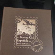 Timbres: LA GUERRA CIVIL ESPAÑOLA EN SELLOS DE CORREOS COLECCIÓN DE 70 SELLOS FALTA UNO. Lote 218791185