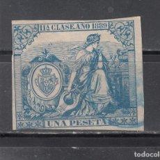 Sellos: SELLO FISCAL AÑO 1889. 1 PTA.. Lote 218793340