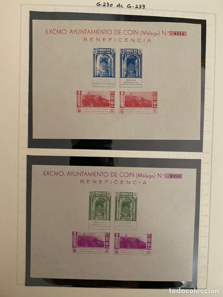 Sellos: Colección sellos locales y beneficencia guerra civil - Foto 2 - 218859265