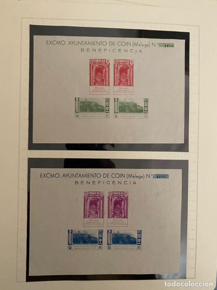 Sellos: Colección sellos locales y beneficencia guerra civil - Foto 3 - 218859265