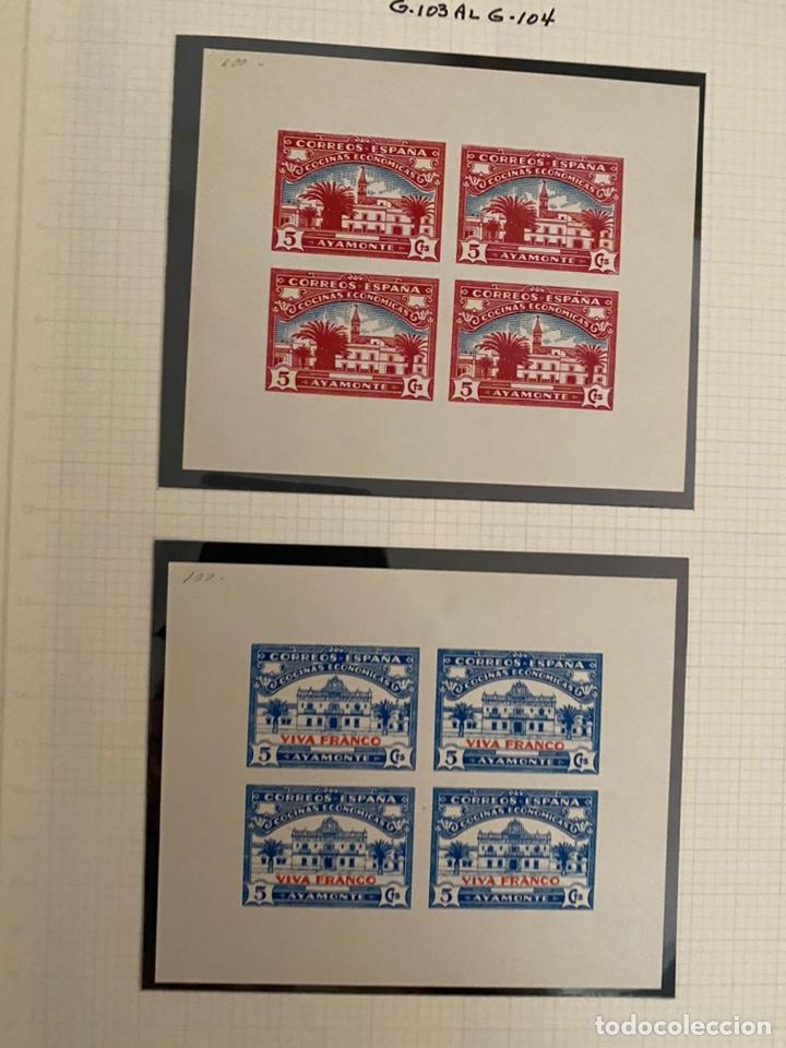 Sellos: Colección sellos locales y beneficencia guerra civil - Foto 4 - 218859265