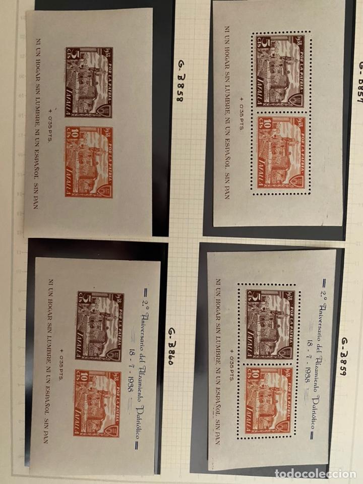 Sellos: Colección sellos locales y beneficencia guerra civil - Foto 5 - 218859265