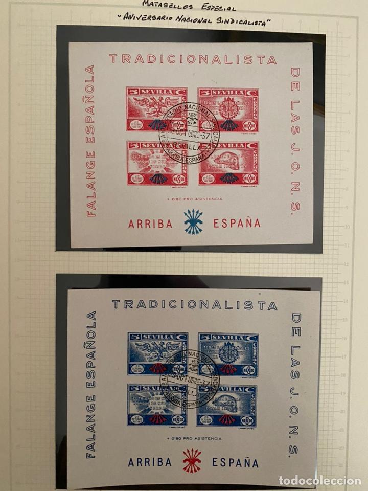 Sellos: Colección sellos locales y beneficencia guerra civil - Foto 6 - 218859265