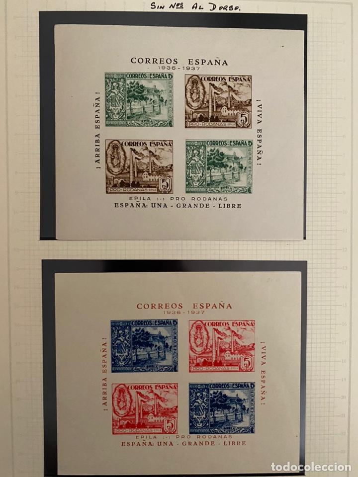 Sellos: Colección sellos locales y beneficencia guerra civil - Foto 8 - 218859265