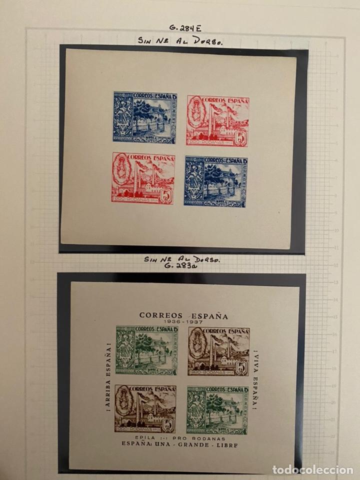 Sellos: Colección sellos locales y beneficencia guerra civil - Foto 9 - 218859265