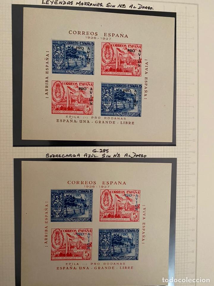 Sellos: Colección sellos locales y beneficencia guerra civil - Foto 10 - 218859265