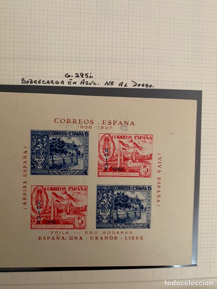 Sellos: Colección sellos locales y beneficencia guerra civil - Foto 11 - 218859265