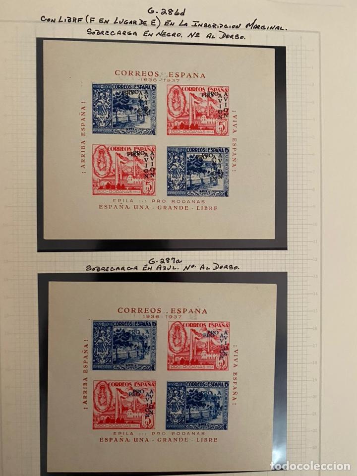 Sellos: Colección sellos locales y beneficencia guerra civil - Foto 12 - 218859265