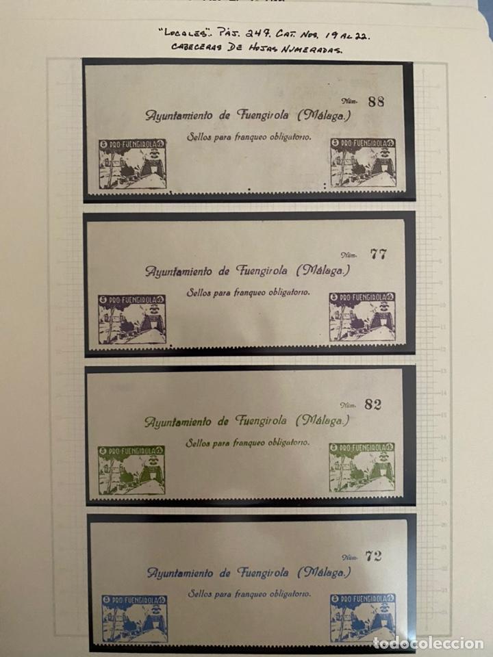 Sellos: Colección sellos locales y beneficencia guerra civil - Foto 13 - 218859265