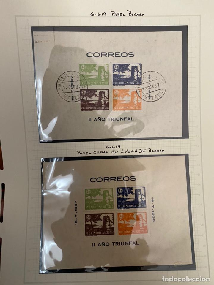 Sellos: Colección sellos locales y beneficencia guerra civil - Foto 14 - 218859265