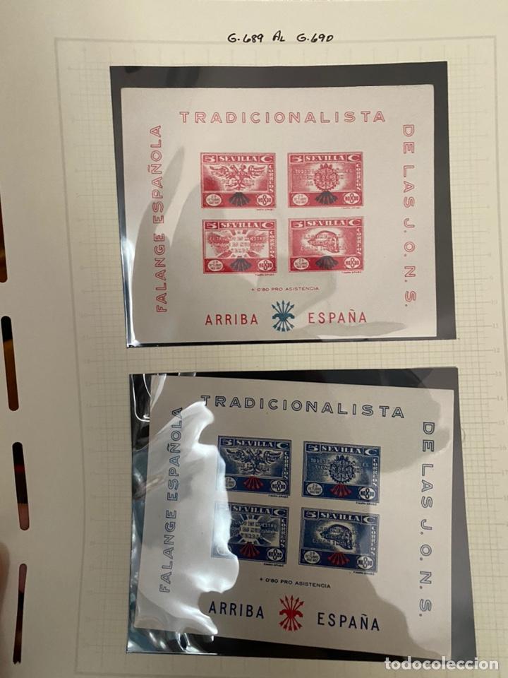 Sellos: Colección sellos locales y beneficencia guerra civil - Foto 15 - 218859265