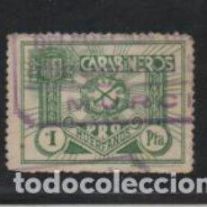 Sellos: CARABINEROS, 1 PTA,- PRO-HUERFANOS.- VER FOTO. Lote 219373271