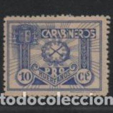 Sellos: CARABINEROS, 10 CTS,- PRO-HUERFANOS.- VER FOTO. Lote 219373358