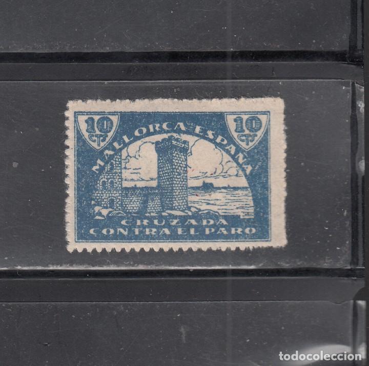 MALLORCA. CONTRA EL PARO. 10 CTS, (Sellos - España - Guerra Civil - Locales - Nuevos)