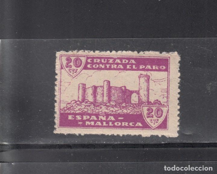MALLORCA. CRUZADA CONTRA EL PARO. 10 CTS. (Sellos - España - Guerra Civil - Locales - Nuevos)