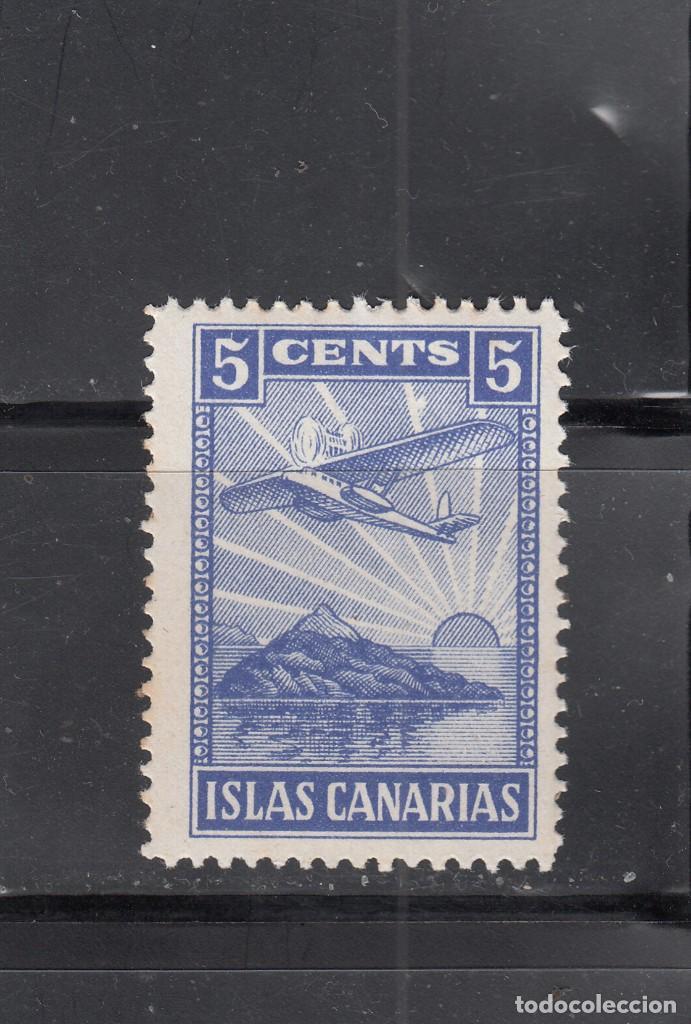 ISLAS CANARIAS. 5 CTS. (Sellos - España - Guerra Civil - Locales - Nuevos)