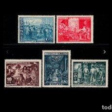 Sellos: ESPAÑA - 1939 - BENEFICENCIA - EDIFIL SH 34 - MH* - NUEVOS - VALOR CATALOGO 52€.. Lote 219736526