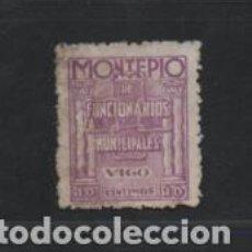 Sellos: VOGO- 10 CTS.- MONTEPIO DE FUNCIONARIOS MUNICIPALES.- VER FOTO. Lote 220613455