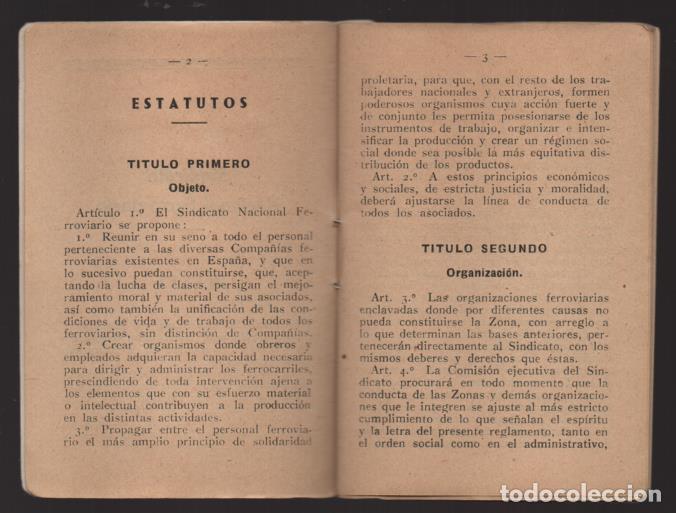 Sellos: MADRID,- U.G.T. SINDICATO NAC. FERROVIARIO- CON 3 CUOTAS OCT-NOV-Y DIC. 1936. VER FOTOS - Foto 4 - 220693042