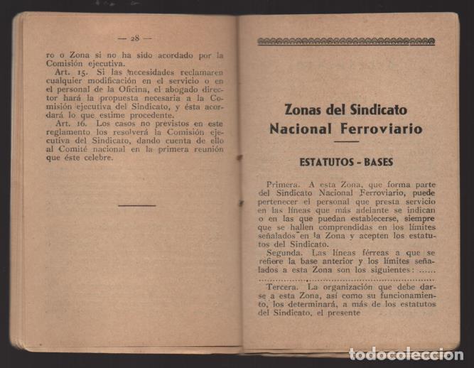 Sellos: MADRID,- U.G.T. SINDICATO NAC. FERROVIARIO- CON 3 CUOTAS OCT-NOV-Y DIC. 1936. VER FOTOS - Foto 7 - 220693042