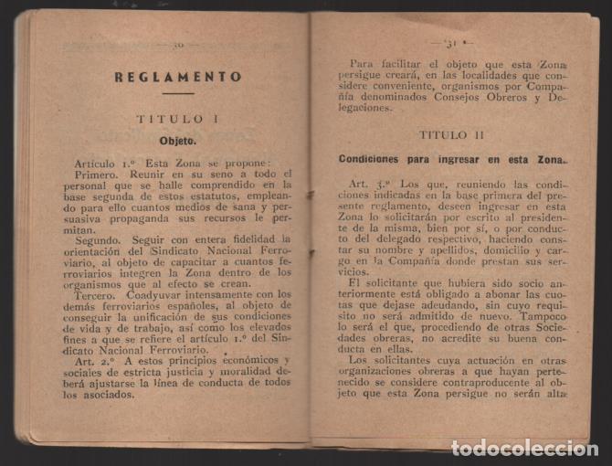 Sellos: MADRID,- U.G.T. SINDICATO NAC. FERROVIARIO- CON 3 CUOTAS OCT-NOV-Y DIC. 1936. VER FOTOS - Foto 8 - 220693042