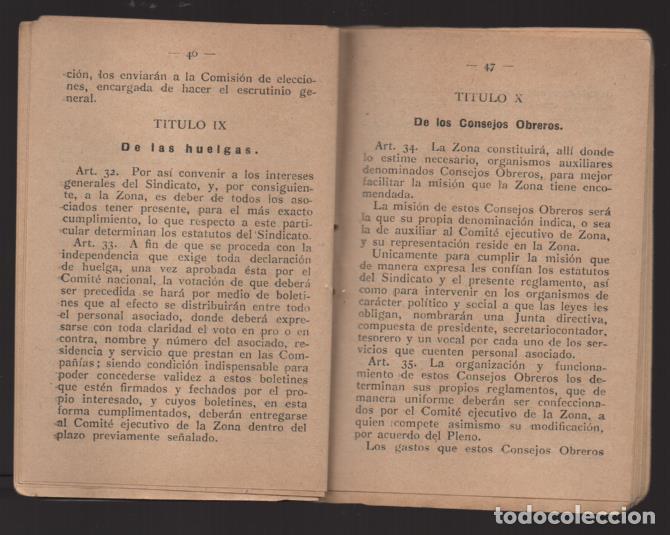Sellos: MADRID,- U.G.T. SINDICATO NAC. FERROVIARIO- CON 3 CUOTAS OCT-NOV-Y DIC. 1936. VER FOTOS - Foto 9 - 220693042