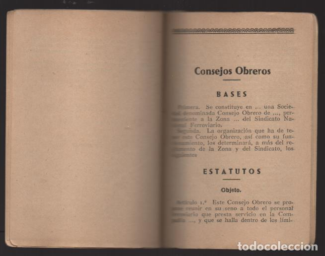 Sellos: MADRID,- U.G.T. SINDICATO NAC. FERROVIARIO- CON 3 CUOTAS OCT-NOV-Y DIC. 1936. VER FOTOS - Foto 10 - 220693042