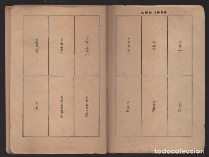 Sellos: MADRID,- U.G.T. SINDICATO NAC. FERROVIARIO- CON 3 CUOTAS OCT-NOV-Y DIC. 1936. VER FOTOS - Foto 14 - 220693042
