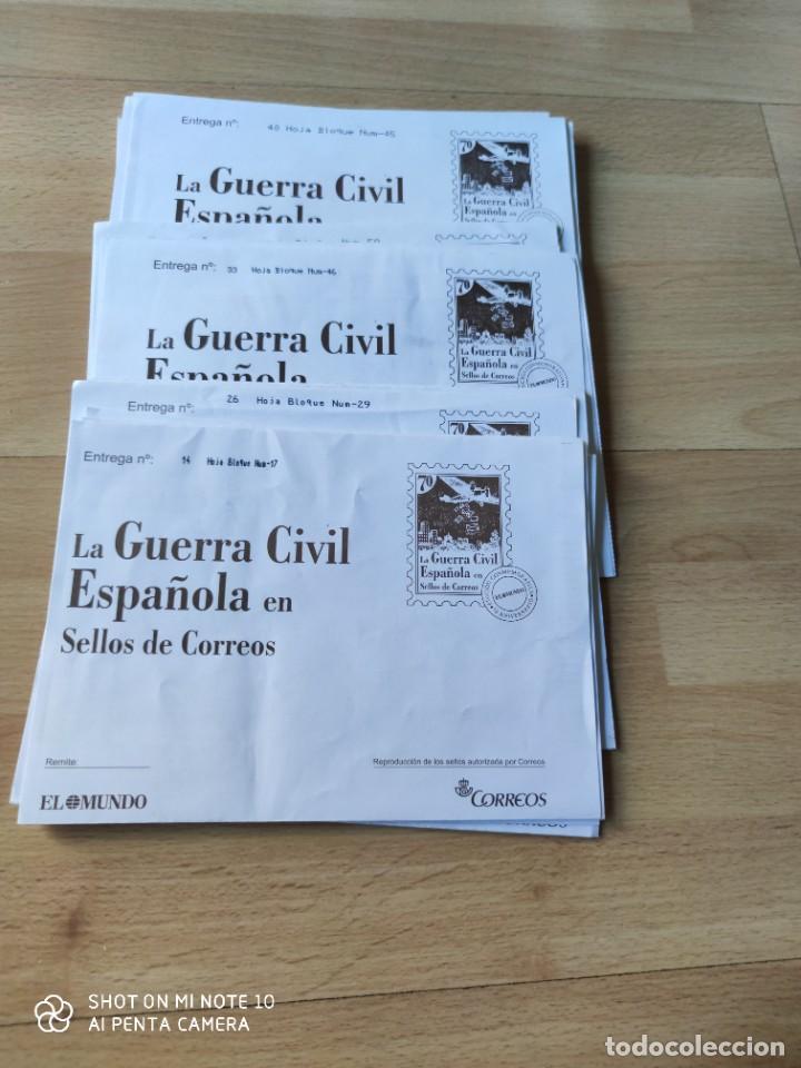 36 SOBRES DE SELLOS FACSÍMILES DE LA GUERRA CIVIL (Sellos - España - Guerra Civil - Locales - Nuevos)