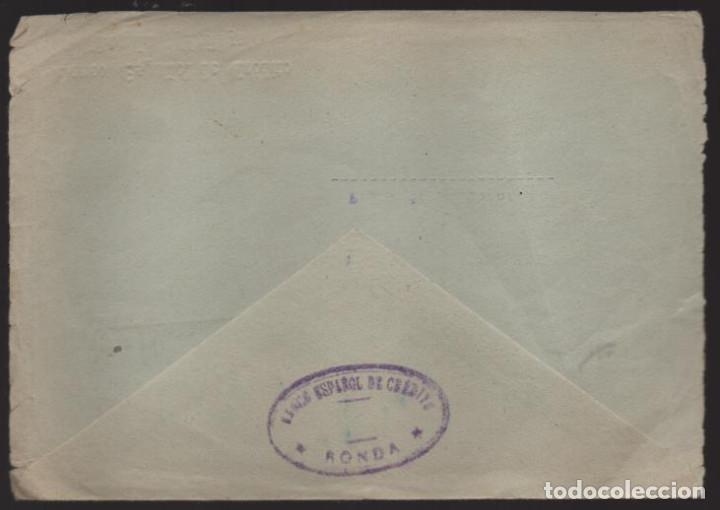 Sellos: CARTA CIRCULADA DE RONDA-MALAGA- A PALMA DE MALLORCA,- VER FOTO - Foto 2 - 221095047