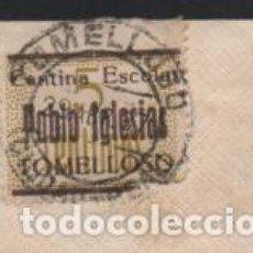 Sellos: CARTA CIRCULADA DE TOMELLOSO A BARCELONA, SELLO TOMELLOSO 5 CTS,. PABLO IGLESIAS.- VER FOTOS. Lote 221097555