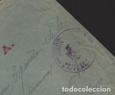 Sellos: CARTA BENALUA DE GUADIX,-GRANADA- SELLADO: SOCORRO ROJO INTERNACIONAL- VER FOTOS - Foto 2 - 221099107