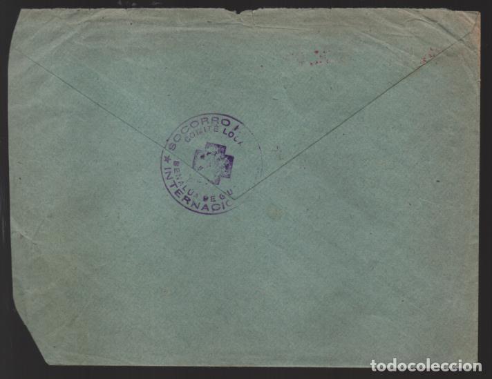 Sellos: CARTA BENALUA DE GUADIX,-GRANADA- SELLADO: SOCORRO ROJO INTERNACIONAL- VER FOTOS - Foto 3 - 221099107