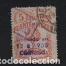 Sellos: FUENTE PIEDRA-MALAGA- CON SOBRECARGA CIRCULADO-- VER FOTO. Lote 221101421
