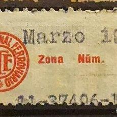 Sellos: VIÑETA REPUBLICANA. SINDICATO NACIONAL FERROVIARIO. Lote 221408881