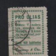 Sellos: OLIAS- MALAGA, 5 CTS, -PRO-OLIAS- VER FOTO. Lote 221524321
