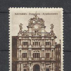 Sellos: AYUNTAMIENTO DE PAMPLONA NAVARRA NUEVO** CALLETAS NANUK BARCELONA. Lote 221807942