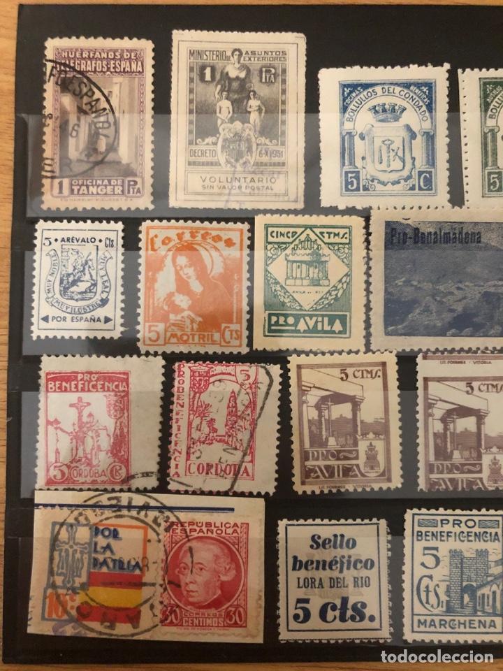 Sellos: Lote locales y viñetas 26 sellos total. Ver fotos - Foto 2 - 222098766