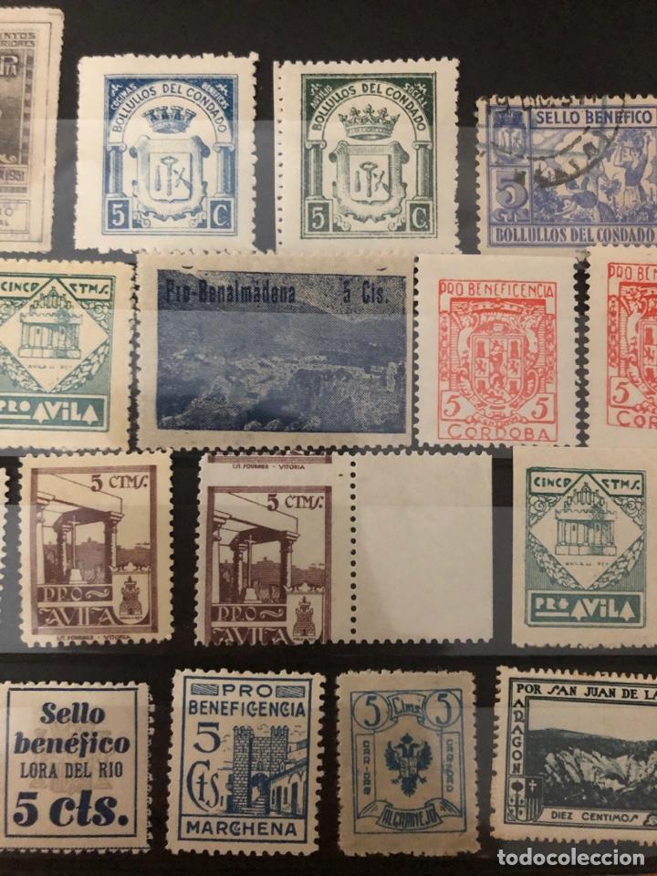Sellos: Lote locales y viñetas 26 sellos total. Ver fotos - Foto 3 - 222098766