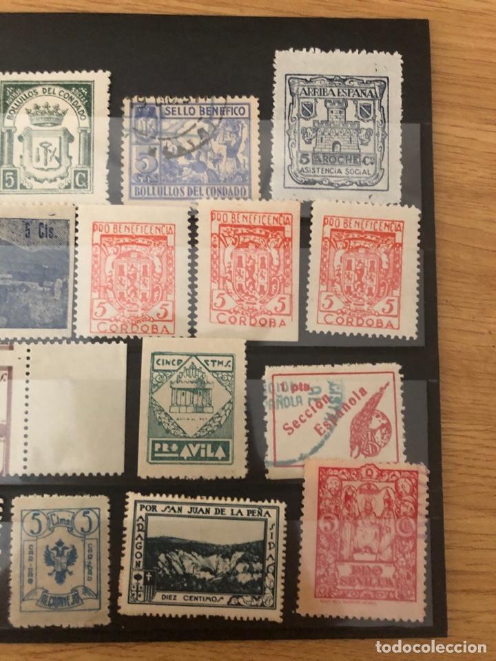 Sellos: Lote locales y viñetas 26 sellos total. Ver fotos - Foto 4 - 222098766