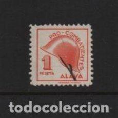 Sellos: ALAVA, 1 PTA,-PRO-COMBATIENTE- VER FOTO. Lote 222098958