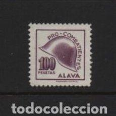 Sellos: ALAVA, 100 PTA,-PRO-COMBATIENTE- VER FOTO. Lote 222098997