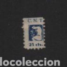 Sellos: VIÑETA.- C.N.T. 25 CTS, NO CATALOGADA, VER FOTO. Lote 222099700