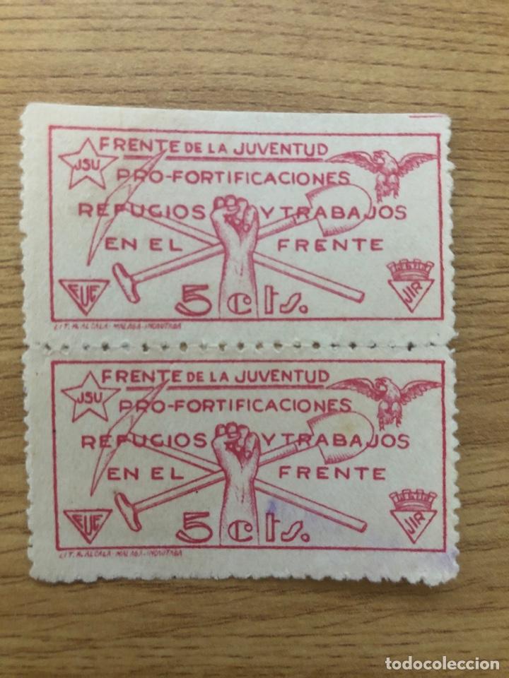 ALLEPUZ 1548 FRENTE DE LA JUVENTUD JIR FUE (Sellos - España - Guerra Civil - De 1.936 a 1.939 - Nuevos)