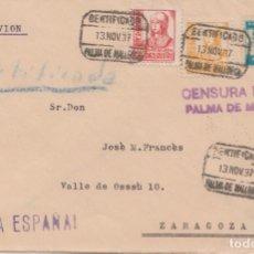 Sellos: CENSURA MILITAR DE PALMA DE MALLORCA. Lote 222226523