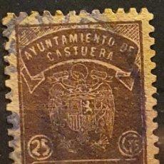 Francobolli: AYUNTAMIENTO CASTUERA. 25 CTS. Lote 222247611