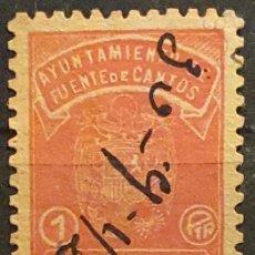 Francobolli: AYUNTAMIENTO FUENTE DE CAMPOS. 1 PTA. Lote 222248375